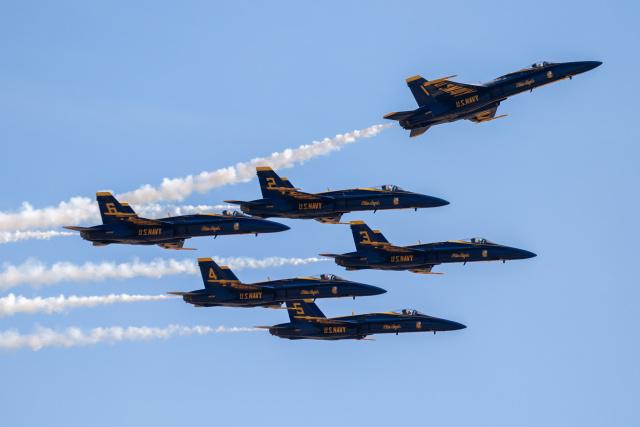 チャッピー・シミズさんが、ミラマー海兵隊航空ステーション で撮影したアメリカ海軍 F/A-18C Hornetの航空フォト(飛行機 写真・画像)