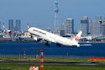 まいけるさんが、羽田空港で撮影した日本航空 777-346の航空フォト(写真)