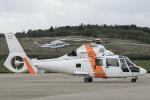 西風さんが、大館能代空港で撮影した東邦航空 SA365N1 Dauphin 2の航空フォト(写真)