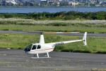 Gambardierさんが、岡南飛行場で撮影した日本法人所有 R44 Ravenの航空フォト(写真)