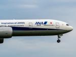 名無しの権兵衛さんが、成田国際空港で撮影した全日空 777-381/ERの航空フォト(写真)