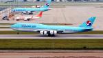 FlyingMonkeyさんが、仁川国際空港で撮影した大韓航空 747-8B5の航空フォト(写真)