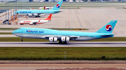 FlyingMonkeyさんが、仁川国際空港で撮影した大韓航空 747-8B5の航空フォト(飛行機 写真・画像)