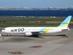 FT51ANさんが、羽田空港で撮影したAIR DO 767-381/ERの航空フォト(写真)