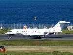 FT51ANさんが、羽田空港で撮影したウェルズ・ファーゴ・バンク・ノースウェスト BD-700-1A10 Global 6000の航空フォト(写真)