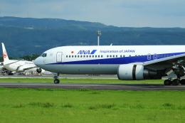 Yusuke✈︎さんが、熊本空港で撮影した全日空 767-381/ERの航空フォト(飛行機 写真・画像)