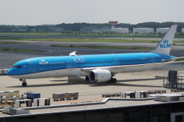 神宮寺ももさんが、成田国際空港で撮影したKLMオランダ航空 787-9の航空フォト(飛行機 写真・画像)