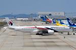 panchiさんが、関西国際空港で撮影したマレーシア航空 A350-941XWBの航空フォト(飛行機 写真・画像)