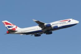 安芸あすかさんが、ロンドン・ヒースロー空港で撮影したブリティッシュ・エアウェイズ 747-436の航空フォト(飛行機 写真・画像)