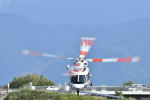 VOXY2005さんが、双葉滑空場で撮影した山梨県防災航空隊 S-76Dの航空フォト(飛行機 写真・画像)