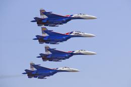 ちゃぽんさんが、珠海金湾空港で撮影したロシア空軍 Su-27UBの航空フォト(飛行機 写真・画像)