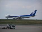 もんがーさんが、パリ シャルル・ド・ゴール国際空港で撮影した全日空 747-481の航空フォト(飛行機 写真・画像)