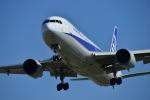 ガミコさんが、松山空港で撮影した全日空 767-381/ERの航空フォト(写真)