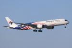 mogusaenさんが、成田国際空港で撮影したマレーシア航空 A350-941の航空フォト(飛行機 写真・画像)