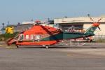 まんぼ しりうすさんが、富山空港で撮影した富山県消防防災航空隊 AW139の航空フォト(写真)