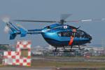 スカルショットさんが、名古屋飛行場で撮影した愛知県警察 BK117C-2の航空フォト(写真)