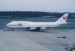 エルさんが、成田国際空港で撮影した日本航空 747-446の航空フォト(写真)