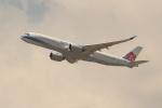 OMAさんが、香港国際空港で撮影したチャイナエアライン A350-941XWBの航空フォト(飛行機 写真・画像)
