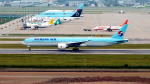 FlyingMonkeyさんが、仁川国際空港で撮影した大韓航空 777-3B5/ERの航空フォト(写真)