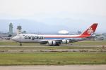 TAKAHIDEさんが、小松空港で撮影したカーゴルクス 747-8R7F/SCDの航空フォト(写真)