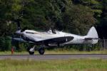 yabyanさんが、名古屋飛行場で撮影したイギリス企業所有 361 Spitfire LF9Cの航空フォト(飛行機 写真・画像)