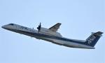 鉄バスさんが、伊丹空港で撮影したANAウイングス DHC-8-402Q Dash 8の航空フォト(写真)
