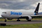 steraziyさんが、ダニエル・K・イノウエ国際空港で撮影したアマゾン・プライム・エア 767-306/ER(BCF)の航空フォト(飛行機 写真・画像)