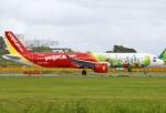 あしゅーさんが、成田国際空港で撮影したベトジェットエア A321-271Nの航空フォト(飛行機 写真・画像)