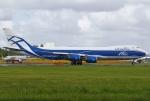 あしゅーさんが、成田国際空港で撮影したエアブリッジ・カーゴ・エアラインズ 747-8HVFの航空フォト(飛行機 写真・画像)