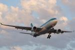安芸あすかさんが、ロサンゼルス国際空港で撮影したエア・リンガス A330-202の航空フォト(写真)