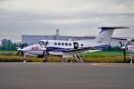 hidetsuguさんが、札幌飛行場で撮影した中日本航空 B200 Super King Airの航空フォト(写真)