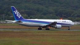 撮り撮り人さんが、岡山空港で撮影した全日空 767-381/ERの航空フォト(飛行機 写真・画像)