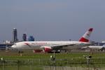 ☆ライダーさんが、成田国際空港で撮影したオーストリア航空 777-2B8/ERの航空フォト(写真)