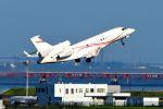 まいけるさんが、羽田空港で撮影した金鹿航空 Falcon 7Xの航空フォト(写真)