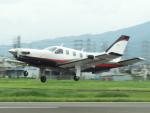 otromarkさんが、八尾空港で撮影した日本個人所有 TBM-700の航空フォト(写真)