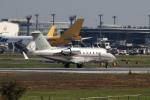 多楽さんが、成田国際空港で撮影したビスタジェット CL-600-2B16 Challenger 605の航空フォト(写真)