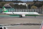 OMAさんが、成田国際空港で撮影したエバー航空 A321-211の航空フォト(飛行機 写真・画像)