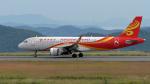 撮り撮り人さんが、岡山空港で撮影した香港航空 A320-214の航空フォト(写真)