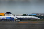 KAZKAZさんが、羽田空港で撮影したケイマン諸島企業所有 Gulfstream G650 (G-VI)の航空フォト(写真)