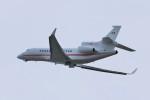 ヒロジーさんが、広島空港で撮影した大金持ちの個人?の航空フォト(写真)