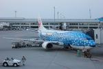 NAOHIROさんが、那覇空港で撮影した日本トランスオーシャン航空 737-4Q3の航空フォト(写真)