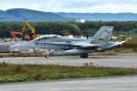 harahara555さんが、千歳基地で撮影したオーストラリア空軍 F/A-18B Hornetの航空フォト(写真)