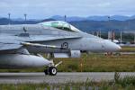 harahara555さんが、千歳基地で撮影したオーストラリア空軍 F/A-18A Hornetの航空フォト(写真)