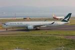 NAOHIROさんが、関西国際空港で撮影したキャセイパシフィック航空 A350-1041の航空フォト(写真)
