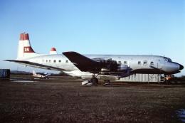 tassさんが、フェニックス・スカイハーバー国際空港で撮影したT & G Aviation DC-7C Seven Seasの航空フォト(飛行機 写真・画像)