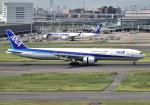 雲霧さんが、羽田空港で撮影した全日空 777-381の航空フォト(写真)