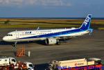 れんしさんが、山口宇部空港で撮影した全日空 A321-272Nの航空フォト(写真)