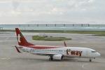 starlightさんが、那覇空港で撮影したティーウェイ航空 737-8ASの航空フォト(写真)