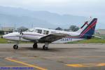 Chofu Spotter Ariaさんが、福井空港で撮影した富士航空 PA-34-200T Seneca IIの航空フォト(飛行機 写真・画像)