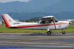 Chofu Spotter Ariaさんが、福井空港で撮影した朝日航空 172S Skyhawk SP IIの航空フォト(飛行機 写真・画像)